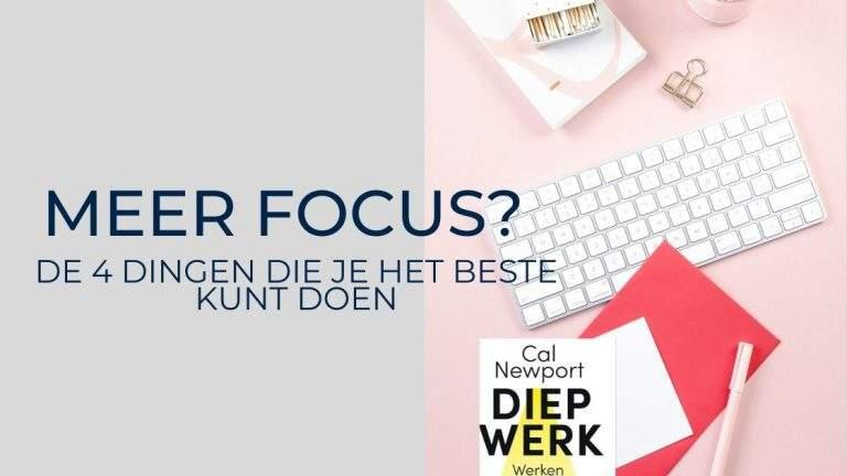 meer focus