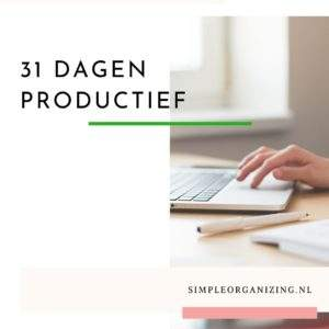 31 dagen productief