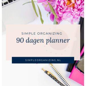 90 dagen planner
