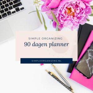 90 dagen planning